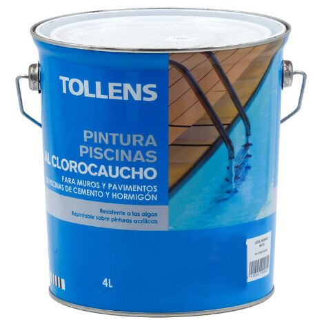 "main image of ""PINTURA CLOROCAUCHO PISCINAS TOLLENS 4 LT"""