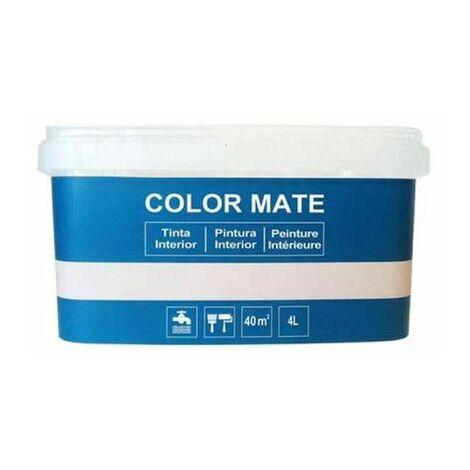 Pintura decorativa color mate - Azul - 4L