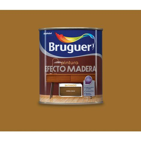 """main image of """"PINTURA EFECTO MADERA BRUGUER 750 ML"""""""