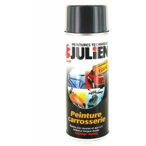 pintura en aerosol cuerpo 400ml Julien gris titanio