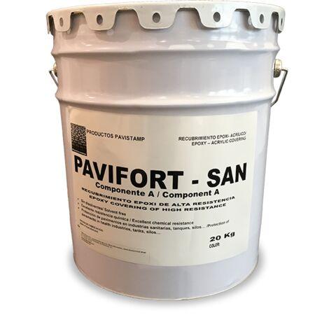 Pintura epoxi sanitaria al disoclvente Pavifort SAN