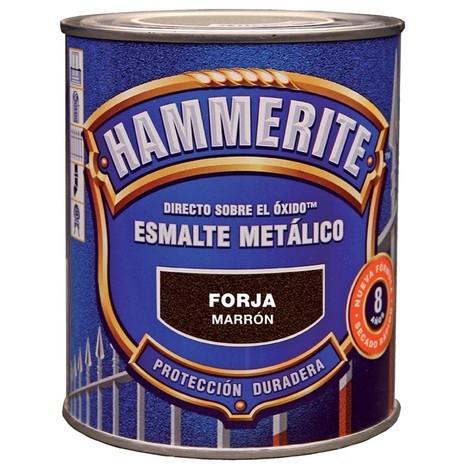 Pintura esmalte gris forja Hammerite