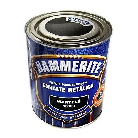 Pintura esmalte martelé negro Hammerite