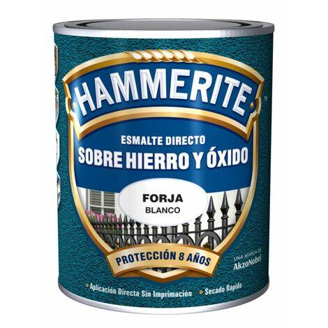 Pintura esmalte negro forja Hammerite