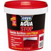 Pintura imperm. cau/acr 1 kg bl fib antig aguastop el ceys