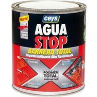 Pintura imperm. liq 1 kg gr polimero aguastop ceys