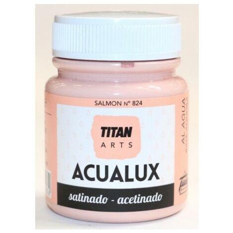 Pintura Manualidades Acrilica 100 Ml Salmon Satinado Titan