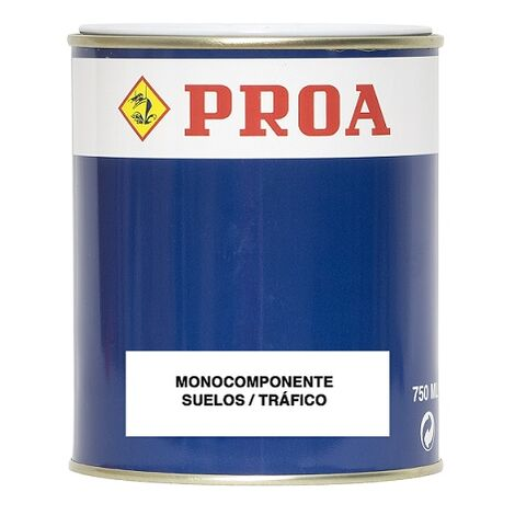 Pintura monocomponente para suelos y garajes.