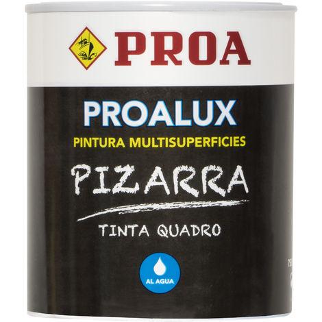 PINTURA MULTISUPERFICIES NEGRO 750ML, Negro Ral 9005 0.75lts