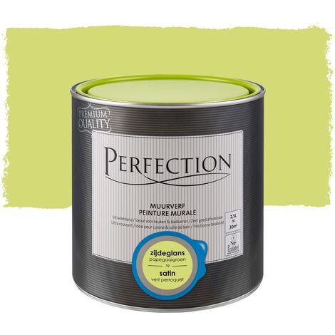 Pintura Mural Perfección - carbón satinado - 1L - 76 Coal