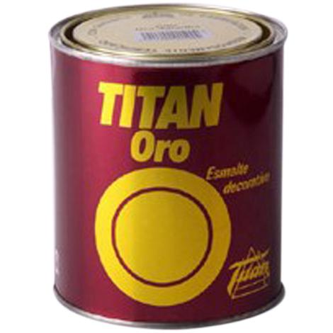 Pintura Oro Amarillo - TITAN - 008300250 - 50 ML