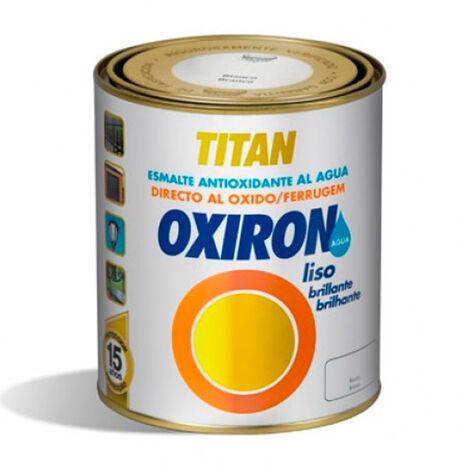 Pintura Titan Oxiron liso agua negro