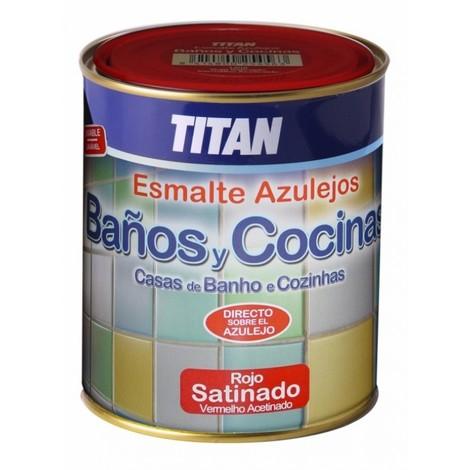 Pintura para azulejos Baños y Cocinas Titan 750 ML
