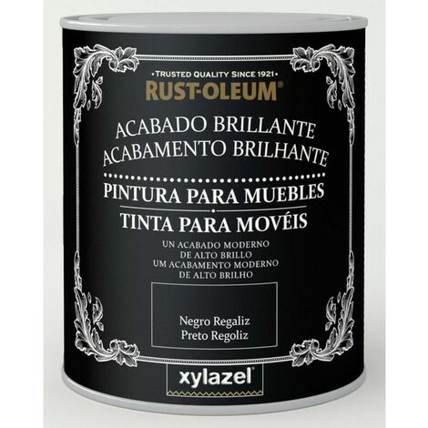 Pintura para muebles brillante Xylazel Blanco hielo 125 ml