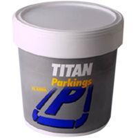 Pintura Parking Acrilica Rojo - Titan - 03S470604 - 4 L