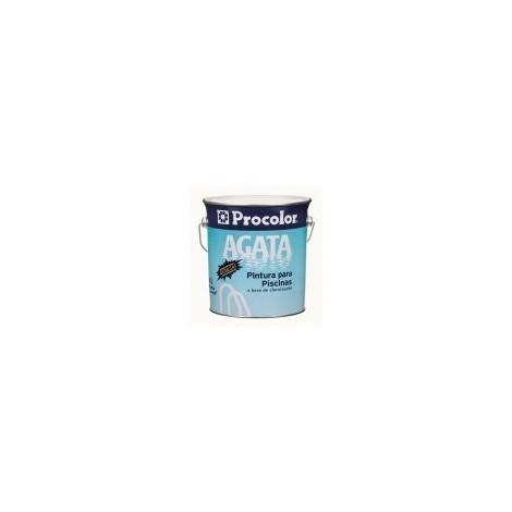 Pintura Piscina Clorocaucho Azul - Agata - 167091431 - 4 L