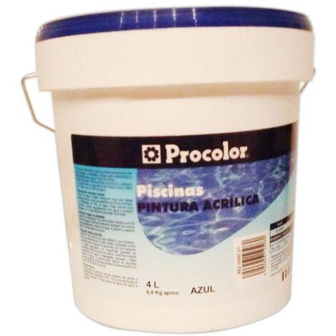 Pintura Piscinas Agua Azul - Procolor - 5058807 - 4 L