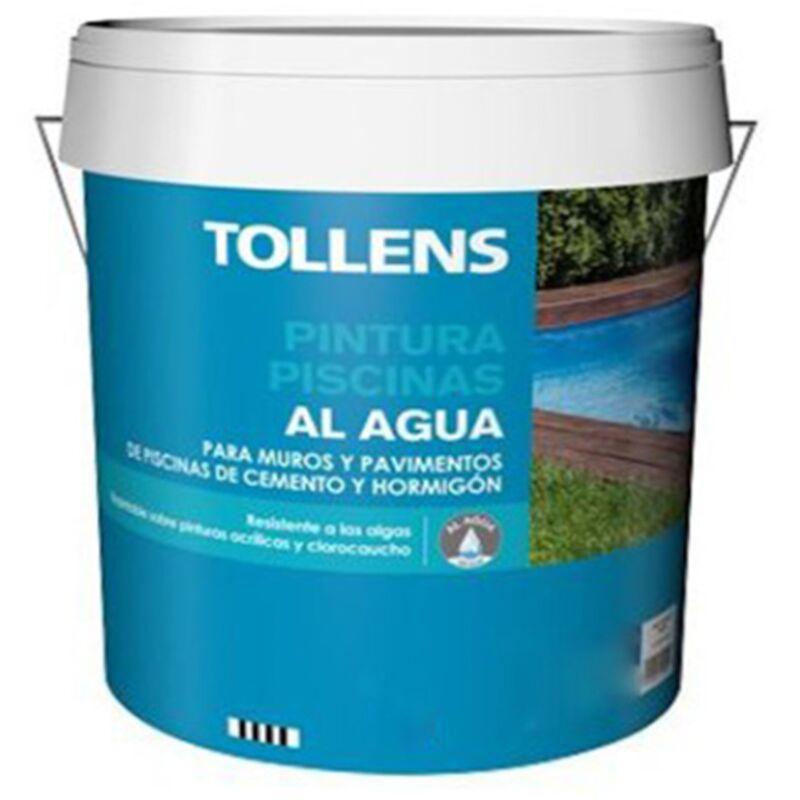 PINTURA PISCINAS AL AGUA TOLLENS 15 LT | Azul Claro 132