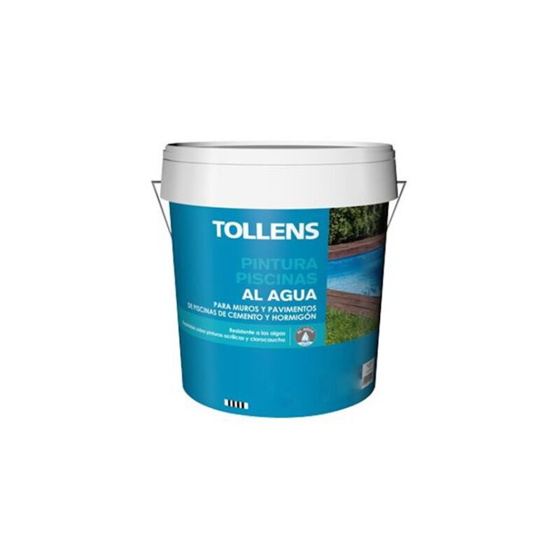 PINTURA PISCINAS AL AGUA TOLLENS 4 LT | Azul Marino 037
