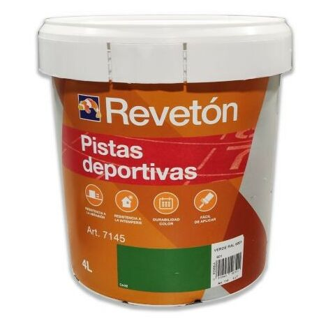 PINTURA PISTAS DEPORTIVAS AL AGUA 4 LT