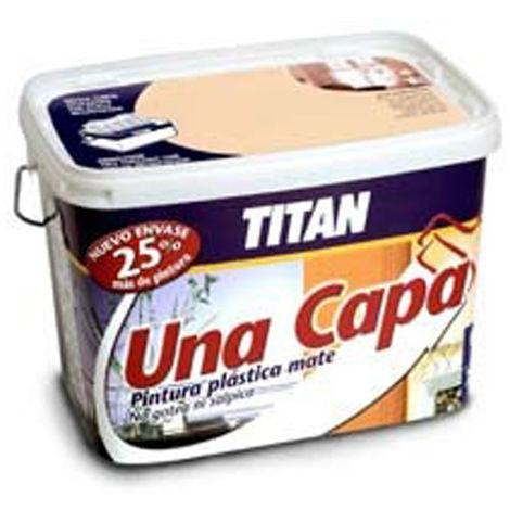 PINTURA PLAST 1 CAPA OCRE - 2.5L - TITAN - 069633226
