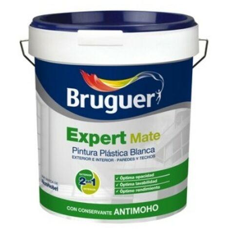 Pintura plast mate 15 lt bl ext. expert bruguer