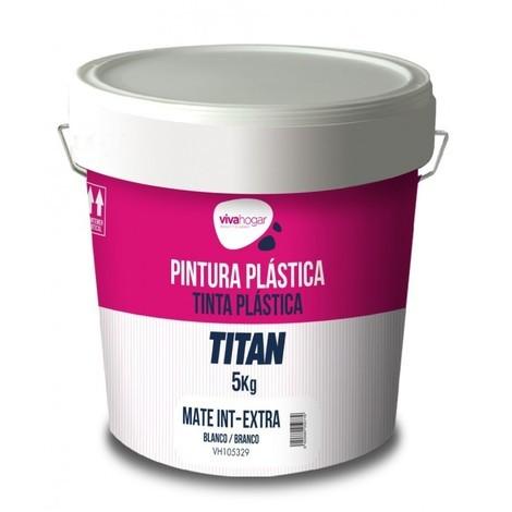 Pintura plast mate 5 kg bl int. extra vivahogar vivah