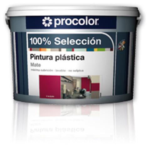 Pintura Plast Mate Lavanda - 100% SELECCION - 5161537 - 4 L