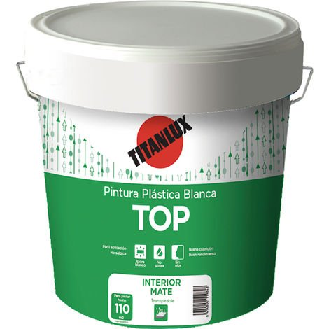 PINTURA PLAST.BCO.TOP MATE INT/EXT.05KG - 457450
