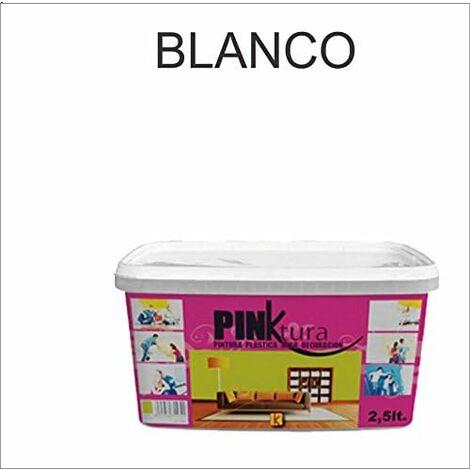 Pintura plástica Alta Decoración PINKTURA 2,5 litros (4 kg)