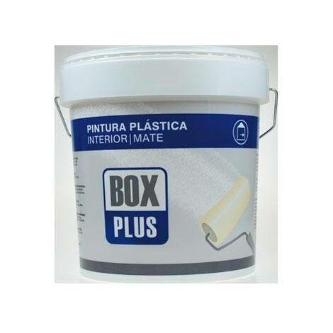 """main image of """"Pintura plastica blanca mate INTERIOR 5 KG Box plus"""""""