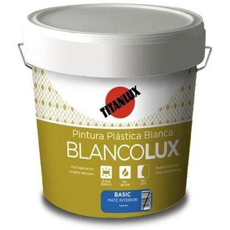 PINTURA PLASTICA BLANCOLUX INTERIOR MATE 20KG.