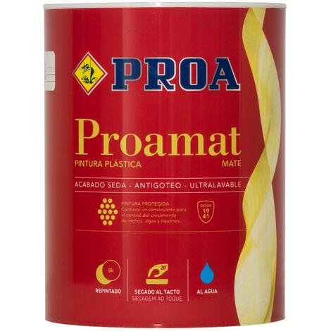 "main image of ""PINTURA PLÁSTICA EXTERIOR MATE ANTIVERDIN. PROAMAT"""