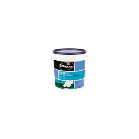 Pintura Plastica Interi/Exteri Mistral - BRUGUER - 5056361 - 10 L
