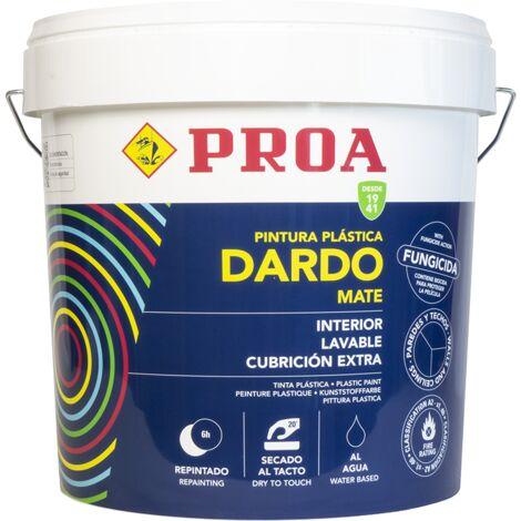 PINTURA PLASTICA INTERIOR BLANCA DARDO