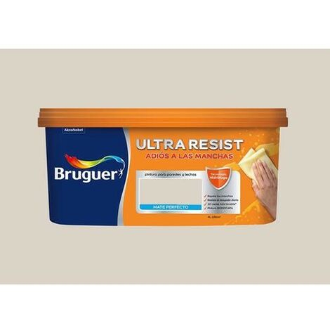 PINTURA PLASTICA INTERIOR BRUGUER MARRON CREMOSO 4L
