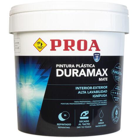 Pintura plástica interior-exterior mate DURAMAX