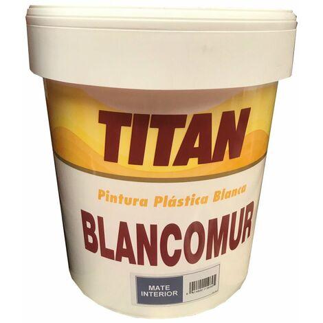 PINTURA PLASTICA INTERIOR MATE BLANCOMUR 20 KG