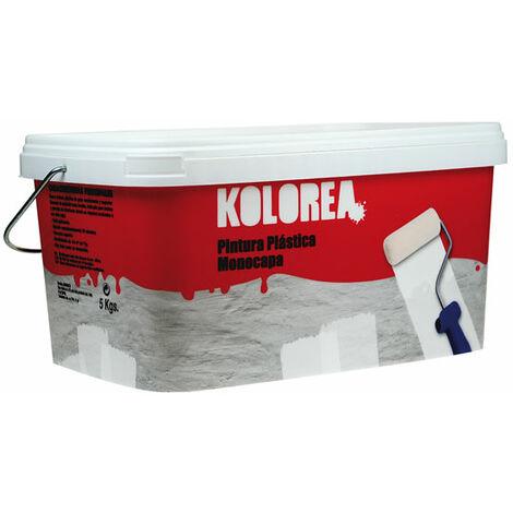 PINTURA PLASTICA INTERIOR MONOCAPA 5 KG