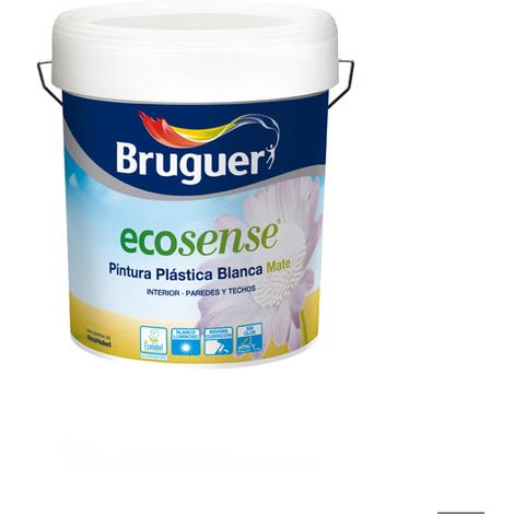 Pintura Plastica Mate Ecologic - ECOSENSE - 5159758 - 4 L