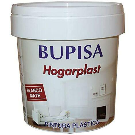 Pintura Plastica Mate Interior 4 Lt 4 Lt Blanco Hogarplast Bupisa