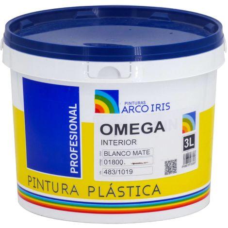 Pintura Plástica Mate Omega Arcoiris