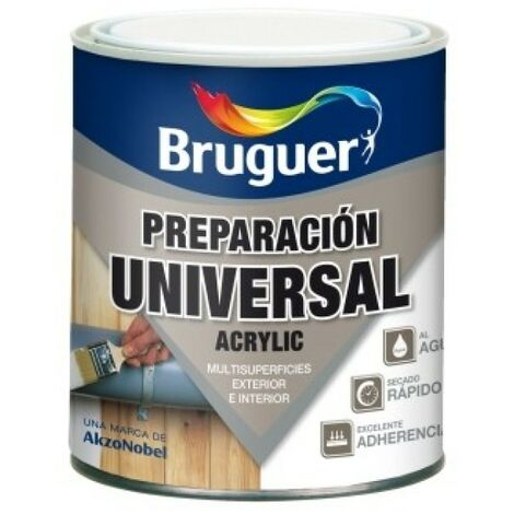 Pintura prep. mad 250 ml bl int/ext agua acril bruguer