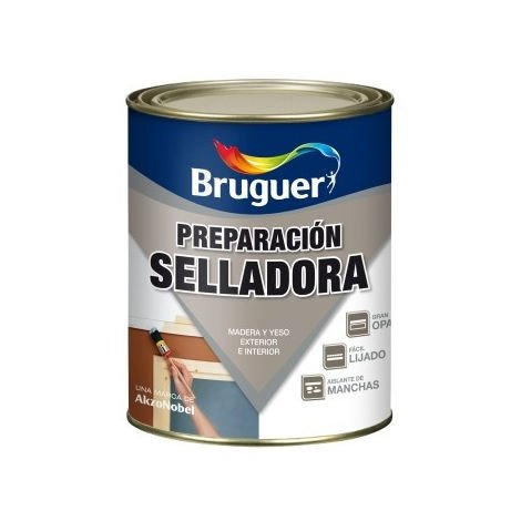 Pintura prep. mad 250 ml bl int/ext su.por sellatin bruguer