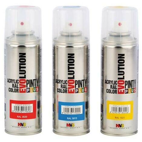 PINTURA SPRAY ACRILICA BARNIZ MATE 200ML