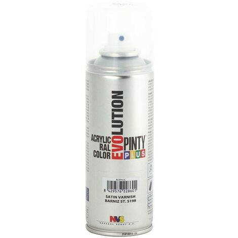 PINTURA SPRAY ACRILICO BARNIZ SATINADO 200ML