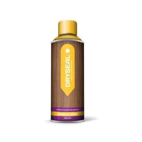 Pintura Spray Agua Madera Amar - DRYSEAL - PMS13 - 400 ML