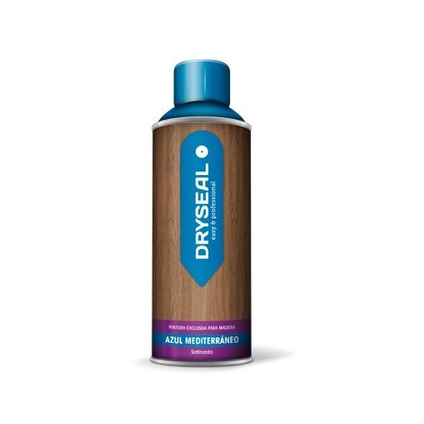 Pintura Spray Agua Madera Azul - DRYSEAL - PMS11 - 400 ML