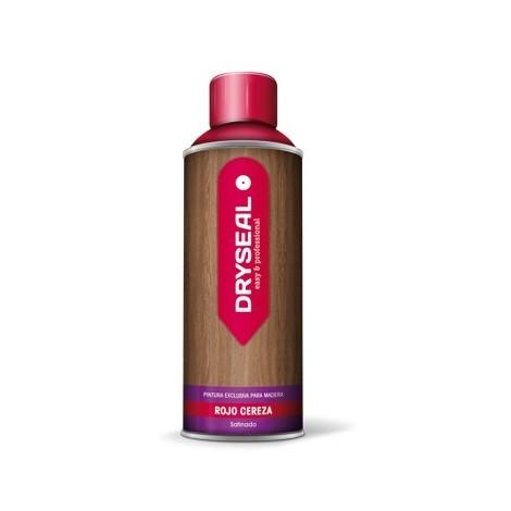 Pintura Spray Agua Madera Rojo - DRYSEAL - PMS09 - 400 ML