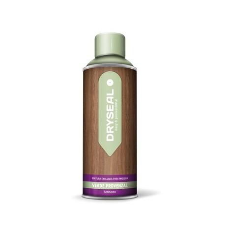 Pintura Spray Agua Madera Verd - DRYSEAL - PMS12 - 400 ML